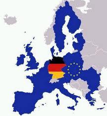 Mapa de Europa i Alemanya