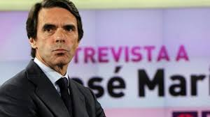 Entrevista de Aznar en televisión