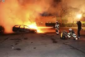 Disturbios en un barrio de Estocolmo