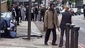 Un dels assassins en el barri londinenc de Woolwich