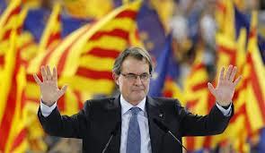 Artur Mas en campaña electoral