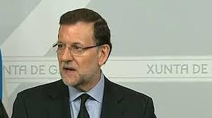 Rajoy, en Galicia después del accidente aéreo