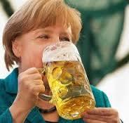 Ángela Merkel en campaña