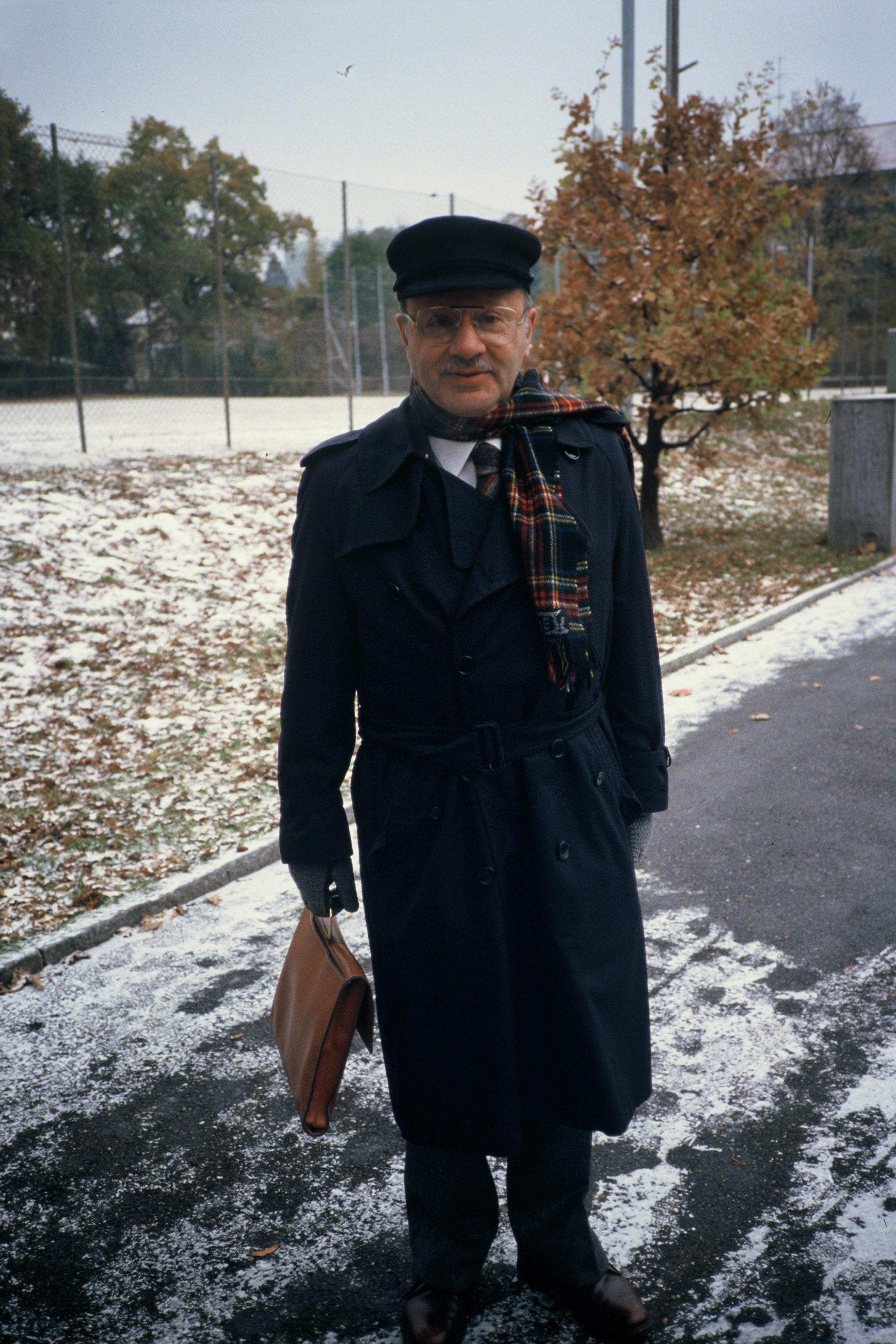 Jaime Arias en la cumbre de Ginebra de 1985