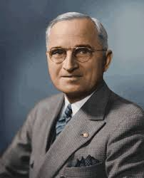El presidente Harry Truman