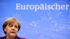 Angela Merkel y Europa