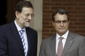 Mariano Rajoy y Artur Mas en un encuentro reciente