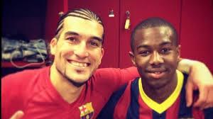 Pinto y Adama Traoré, veterano de 38 años y debutante de 17 años