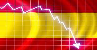 Gráfico imaginario sobre la crisis española