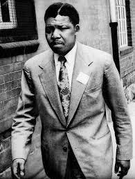 Nelson Mandela, abogado, antes de ingresar en prisión