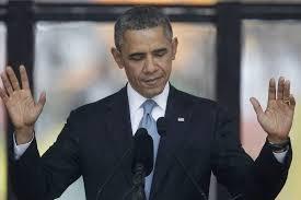 El presidente Obama en un brillante discurso fúnebre en Soweto