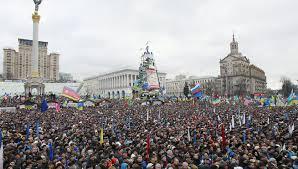Granb manifestación proeuropeista en Kiev