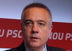 Les dificultats de Pere Navarro per mantenir la disciplina al PSC