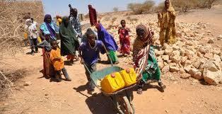 Imagen de pobreza en África