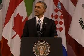 Discurso de  Obama en el Palacio de Bellas Artes de B ruselas