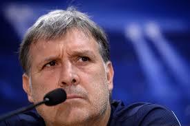 El entrenador Tata Martino