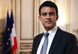 Manuel Valls, primer ministro con François Hollande