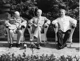 Churchill, Truman i Stalin a Potsdam