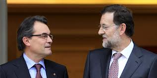 Els presidents Mas i Rajoy en una foto d'arxiu