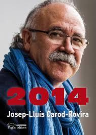 Josep Lluís Carod-Rovira, a la portada del seu llibre 2014