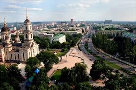La catedral ortodoxa de Donetsk