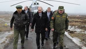 Putin llega Crimea recientemente anexionada a Rusia