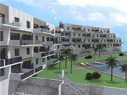 Urbanización moderna en la costa mediterrranea