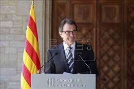 Reacción de Artur Mas tras la abdicación del Rey Juan Carlos