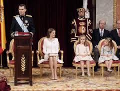Felip VI en el seu discurs al Congrés dels Diputats