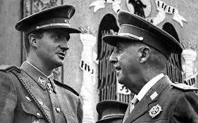 Franco y el príncipe Juan Carlos