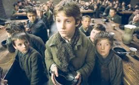 Imágenes de la película Oliver Twist basada en la novela de Dickens