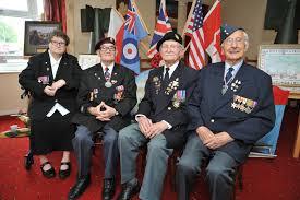 Veteranos de guerra en el 70 aniversario del día D