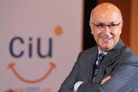 Josep Antoni Duran Lleida antes de abandonar la secretaría general de CiU