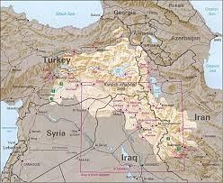 Els kurds habiten principalment a Turquia, Iraq, Iran i Siria