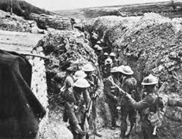Interminables trincheras cruzaron Europa en la Gran Guerra