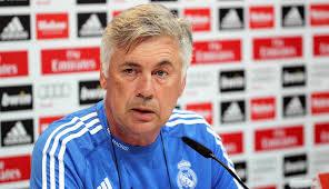 Ancelotti, entrenador del Real Madrid