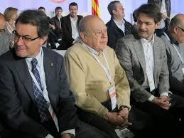 Artur Mas, Jordi Pujol y Oriol Pujol
