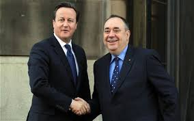 David Cameron y Alex Salmond, el día que acordaron la celebración de un referéndum