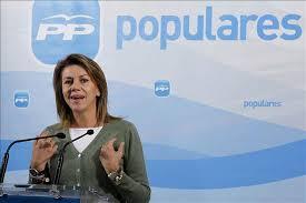 Maria Dolores de Cospedal, secretaria general del Partido Popular