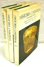 Tres volúmenes de Historia Universal