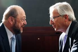 Jean-Claude Juncker i Martin Schultz