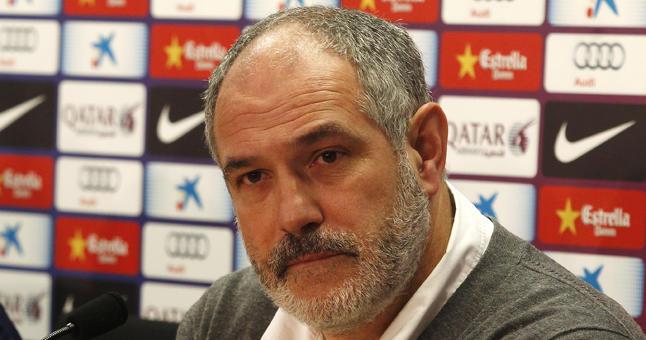 Andoni Zubizarreta, director deportivo del Barça