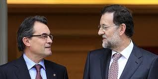 Artur Mas y Mariano Rajoy en un encuentro de hace meses