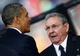 Barack Obama y Raúl Castro en una fotografía reciente