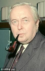 El ex primer ministro Harold Wilson