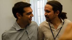 Alexis Tsipras y Pablo Iglesias en una foto reciente