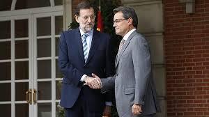 Mariano Rajoy y Artur Mas en un encuentro en La Moncloa