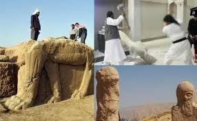 Los iconoclastas del Estado Islámico destruyen los vestigios de la civilización