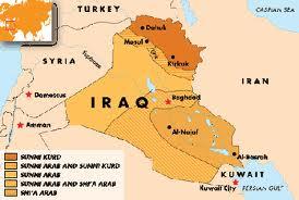 La part del Kurdistan iraquí que podria arribar a ser un Estat.