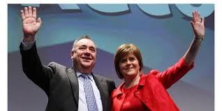 Alex Salmond y Nicola Sturgeon, figuras centrales del SNP